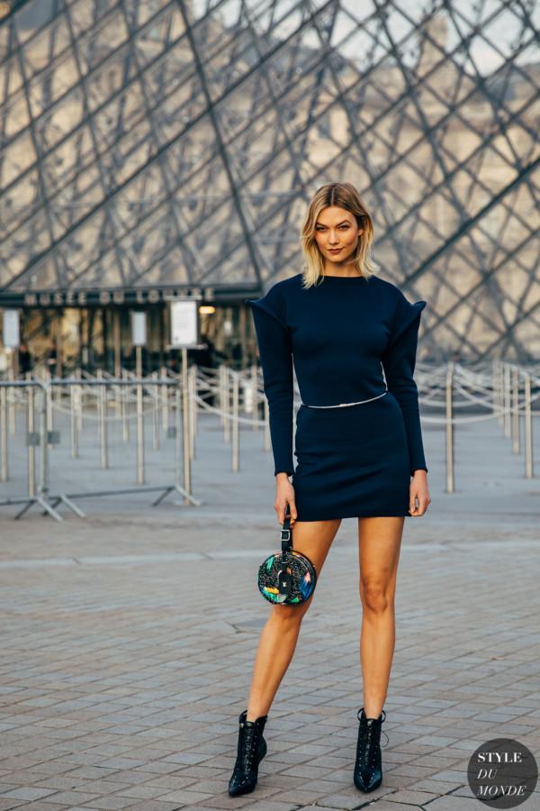 Karlie Kloss Style Du Monde Street Style Street Fashion Photos