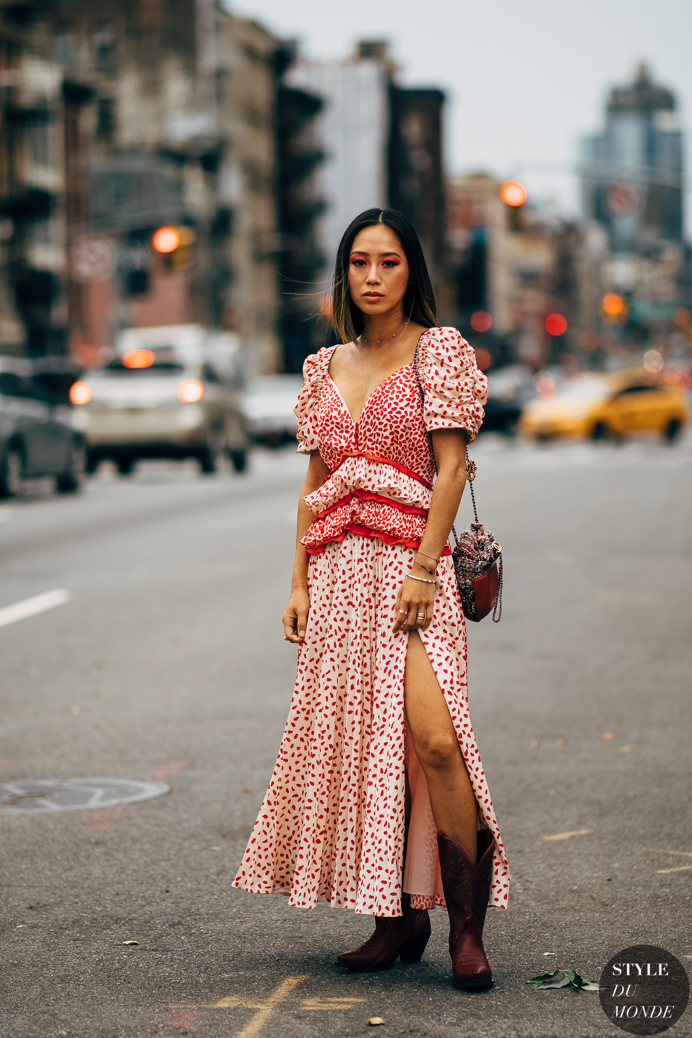 New York FW 2019 Street Style: Aimee Song - STYLE DU MONDE