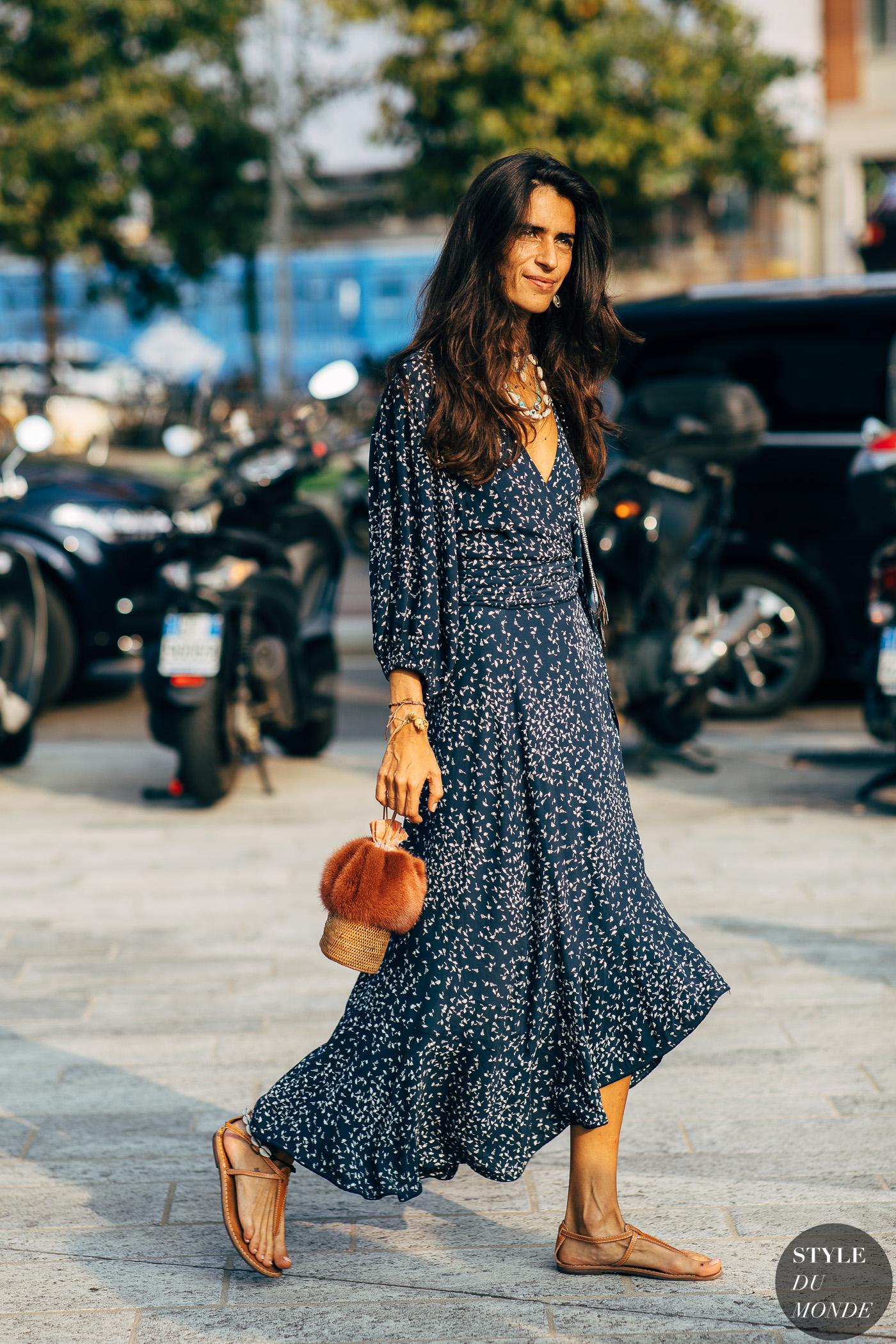 milan ss 2019 street style chiara totire style du monde street style street fashion photos