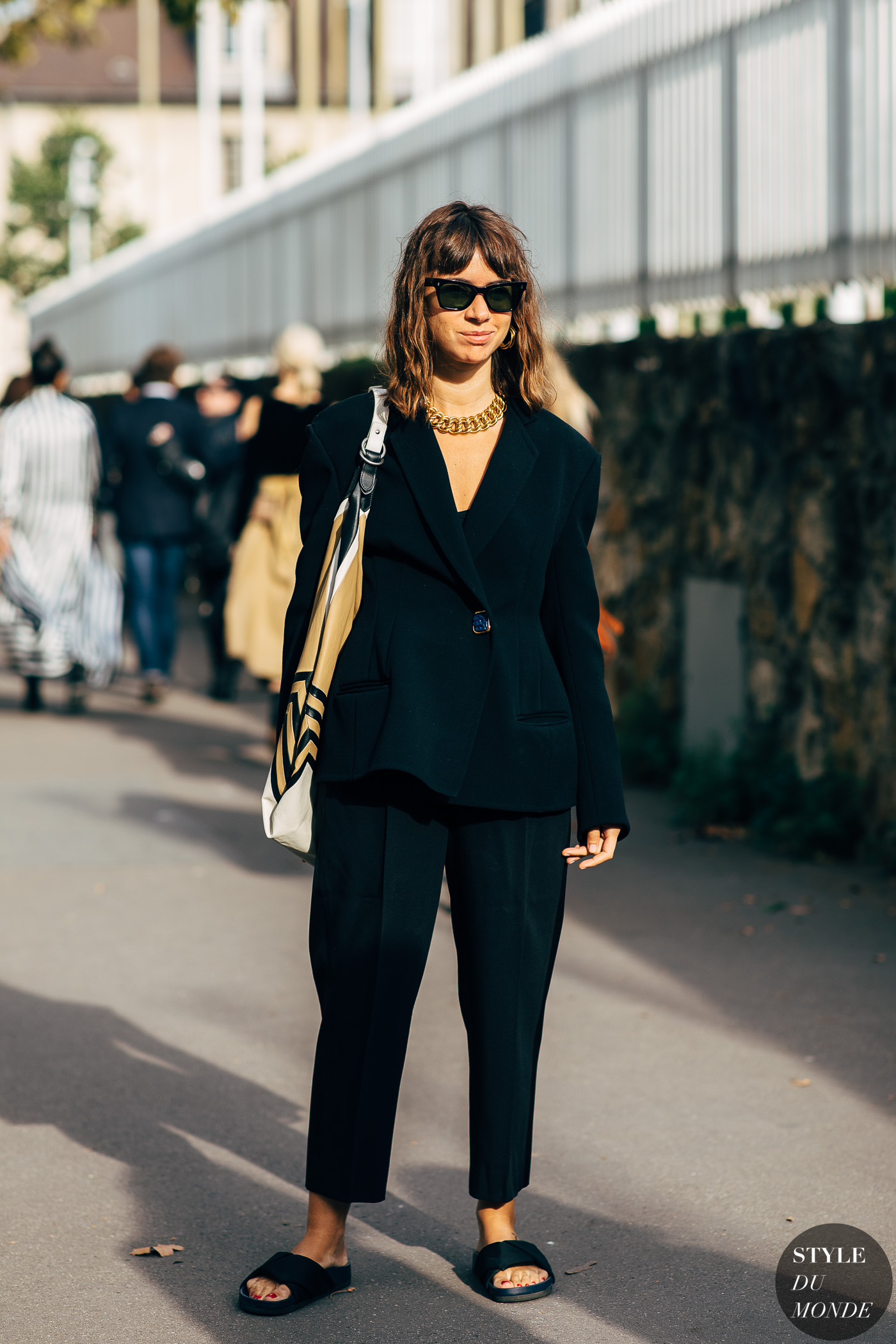 Paris SS 2019 Street Style: Natasha Goldenberg - STYLE DU