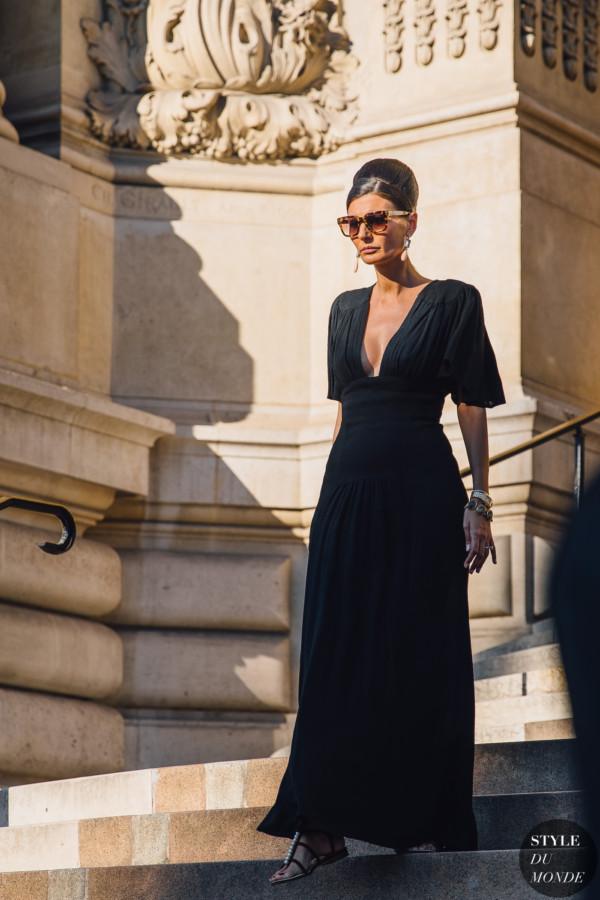8c7365ad3a Haute Couture Fall 2019 Street Style: Giovanna Battaglia Engelbert