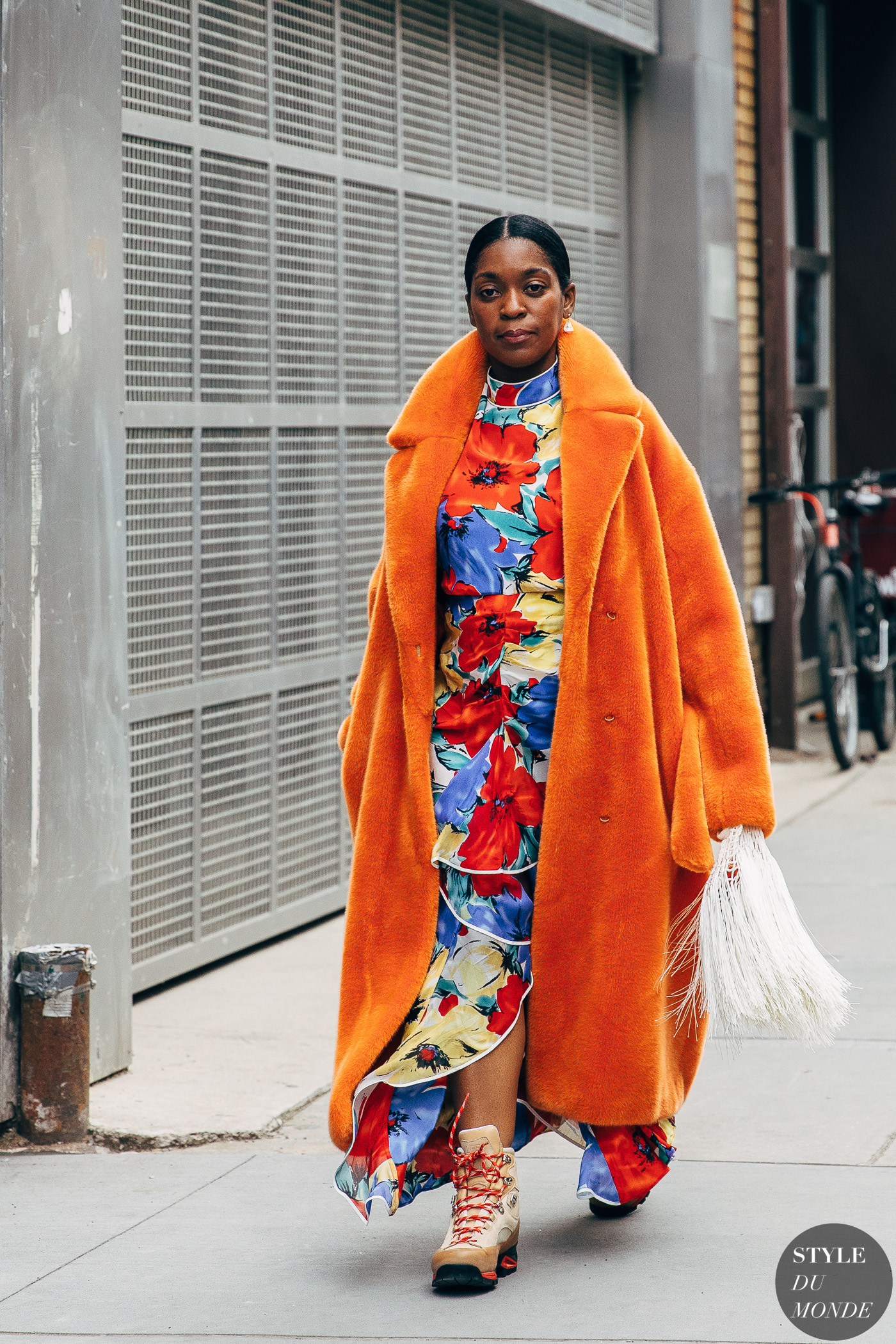 New York FW 2019 Street Style: Tamu McPherson - STYLE DU