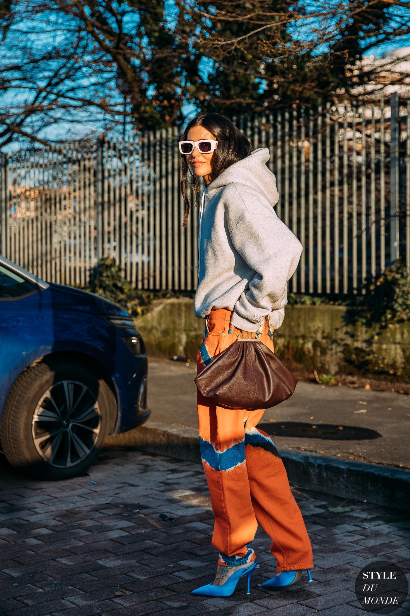 Paris FW 2020 Street Style: Gilda Ambrosio, Giorgia and