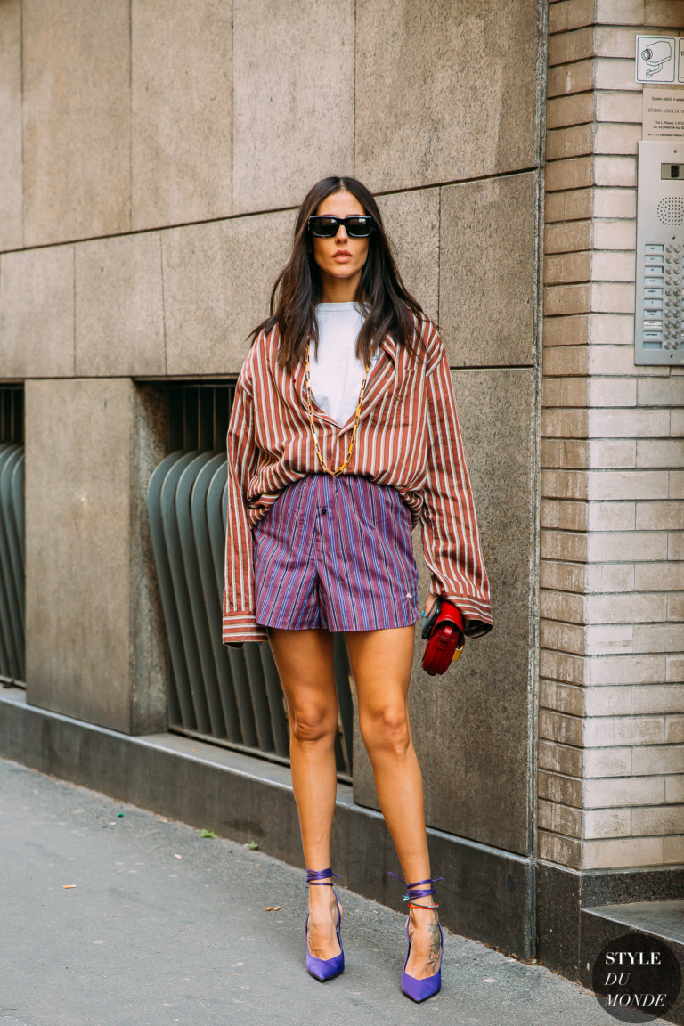 Paris FW 2019 Street Style: Gilda Ambrosio - STYLE DU