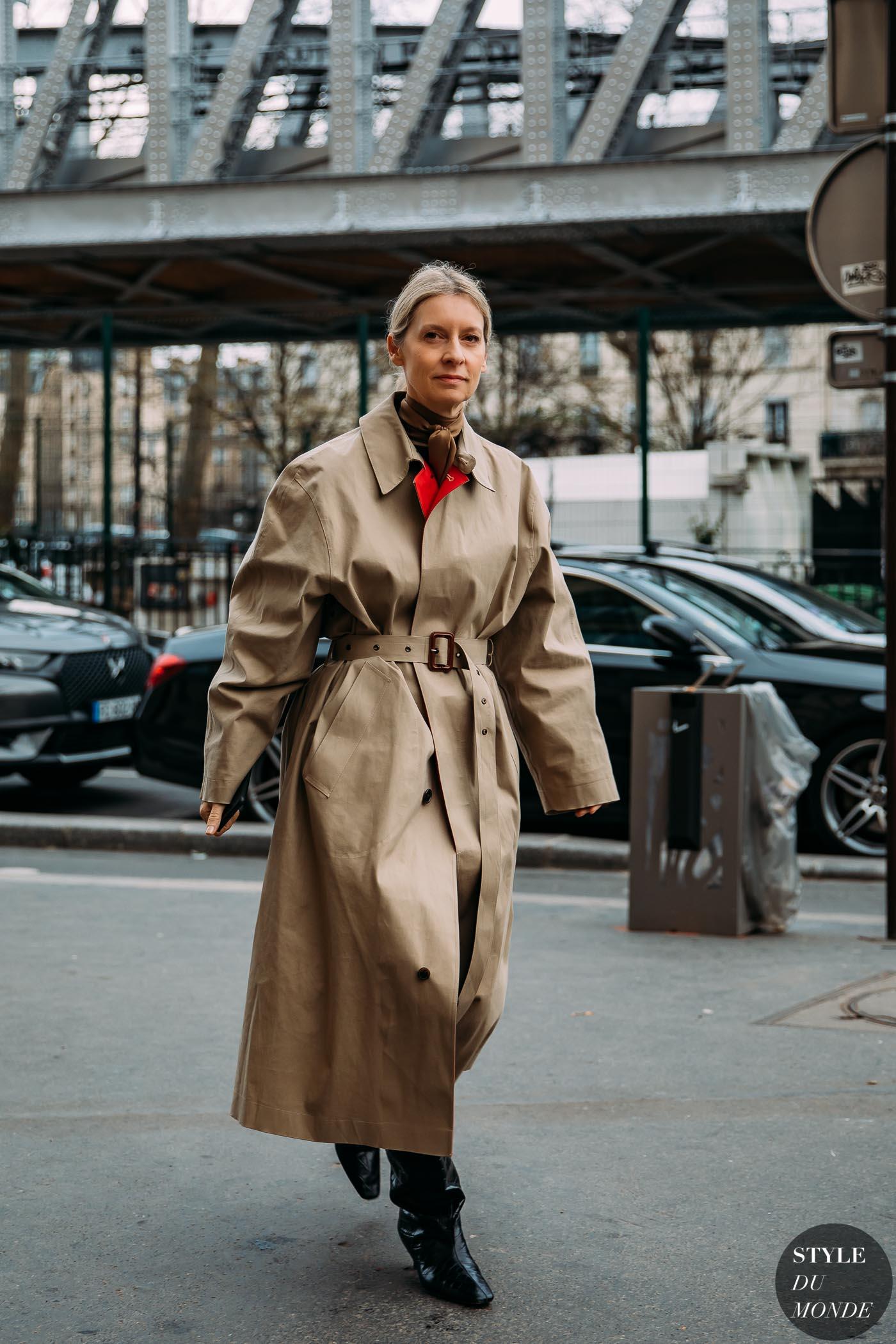 Paris FW 2020 Street Style: Suzanne Koller - STYLE DU