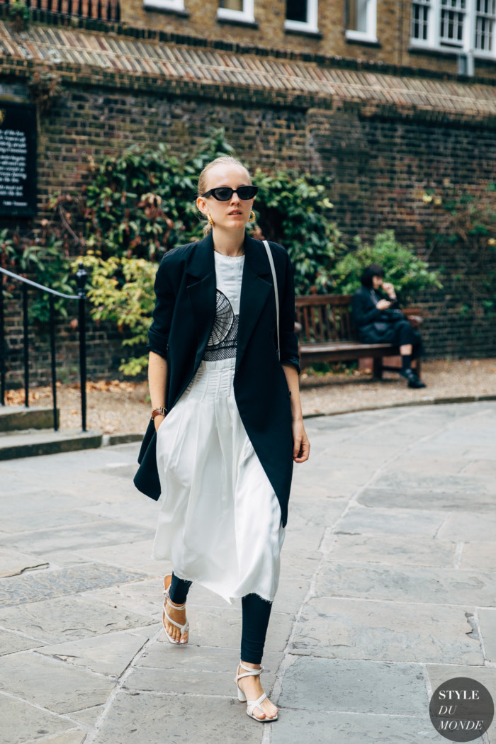 London SS 2020 Street Style: Alexandra Carl