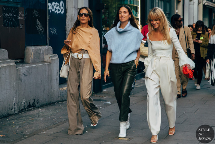 London SS 2020 Street Style: Chloe Harrouche, Erika Boldrin, Jeanette Friis Madsen