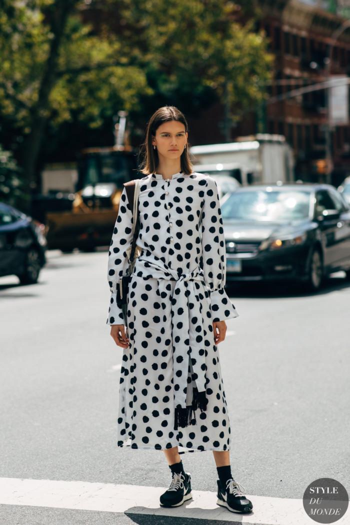 New York SS 2020 Street Style: Daniela Kocianova