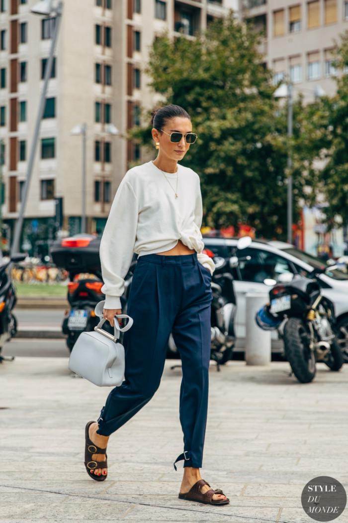 Milan SS 2020 Street Style: Diletta Bonaiuti