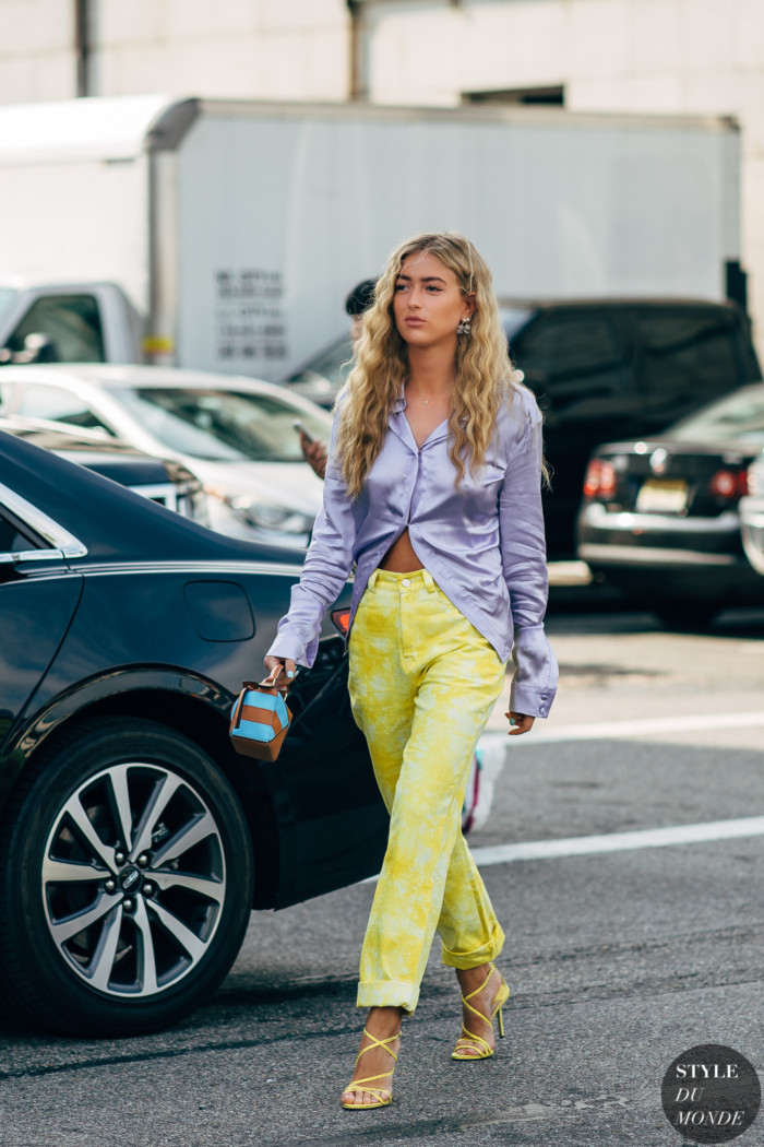 New York SS 2020 Street Style: Emili Sindlev