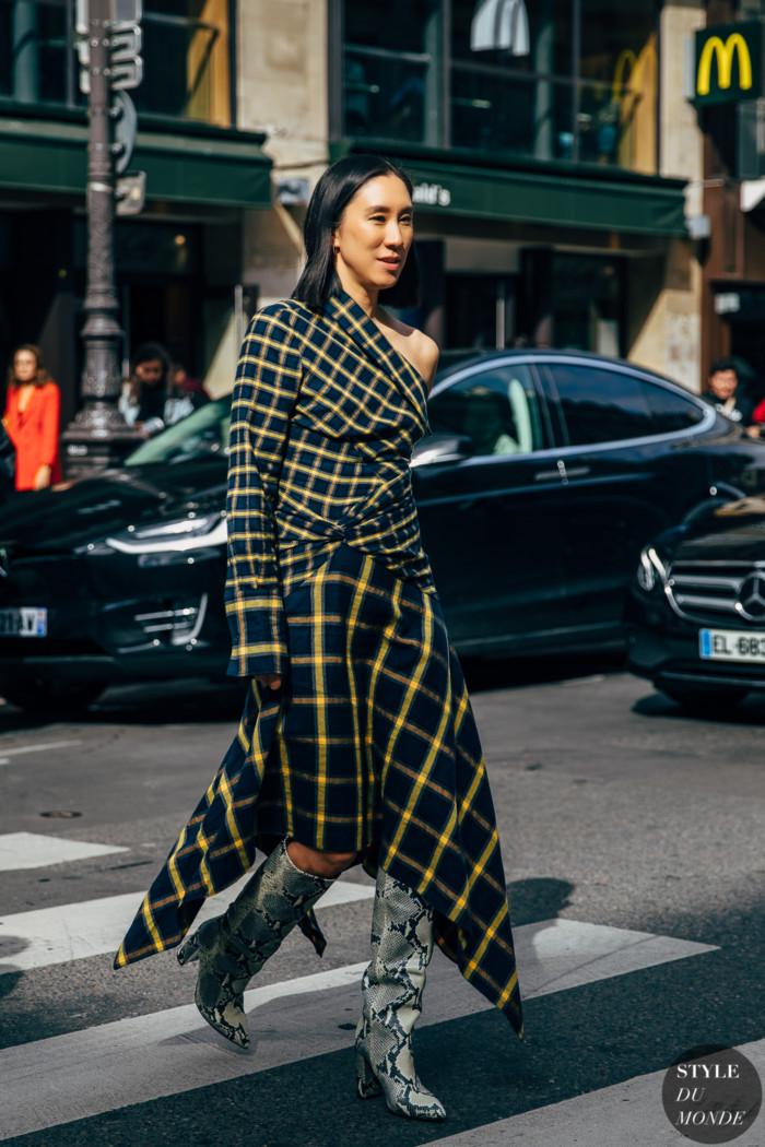 Paris SS 2020 Street Style: Eva Chen