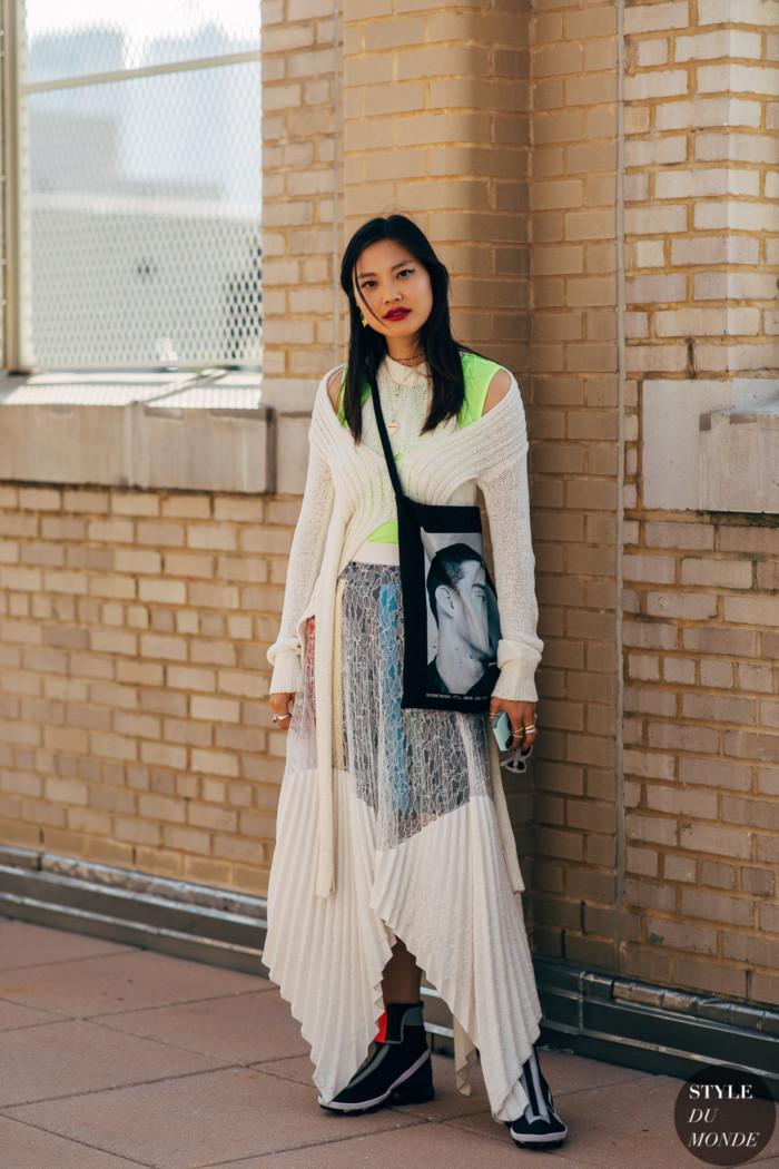 New York SS 2020 Street Style: Gia Seo