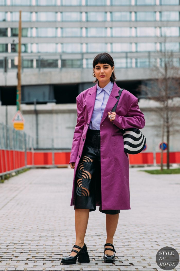 Paris FW 2020 Street Style: Maria Bernad