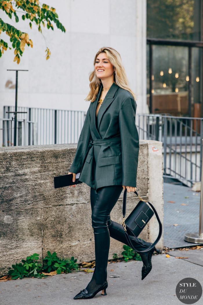 Paris SS 2020 Street Style: Megan Reynolds