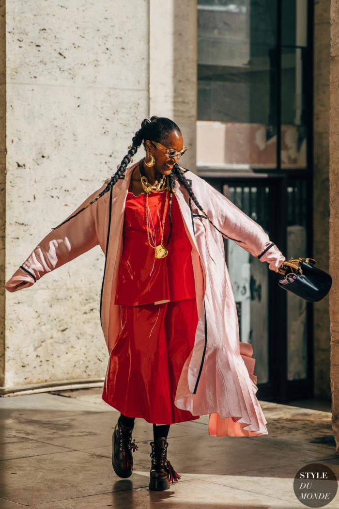 Paris SS 2020 Street Style: Michelle Elie
