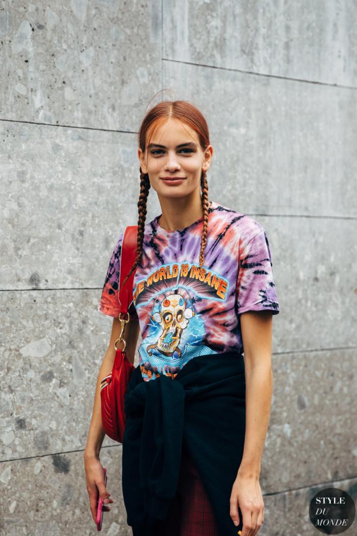 Milan SS 2020 Street Style: Nina Marker