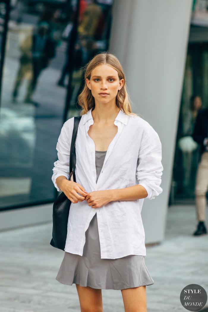 Milan SS 2020 Street Style: Rebecca Longendyke