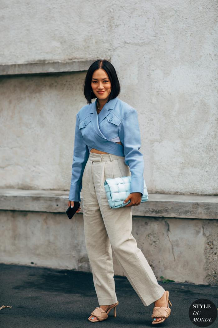 Milan SS 2020 Street Style: Tiffany Hsu