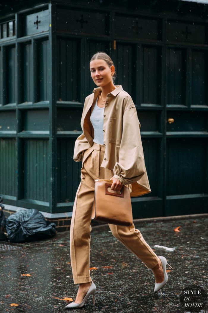 London SS 2020 Street Style: Vera Van Erp