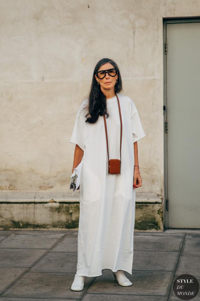 Milan SS 2020 Street Style: Veronique Tristam