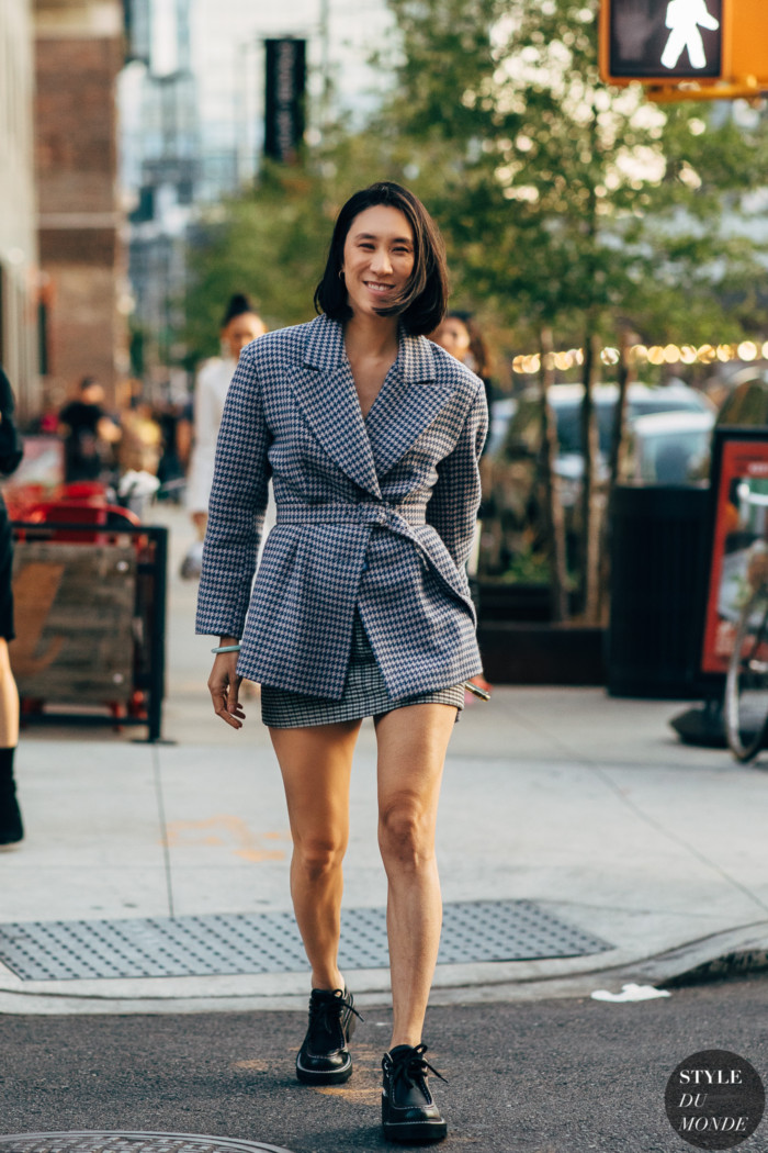 New York SS 2020 Street Style: Eva Chen