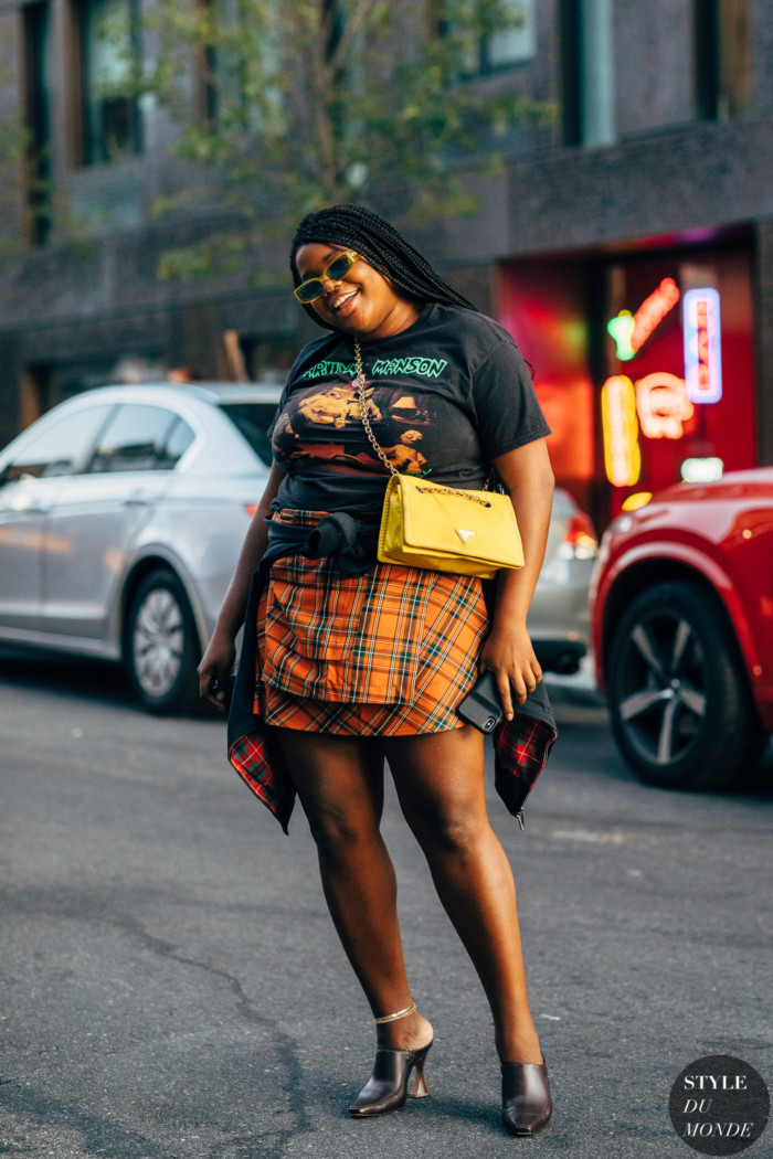 New York SS 2020 Street Style: Gabriella Karefa-Johnson