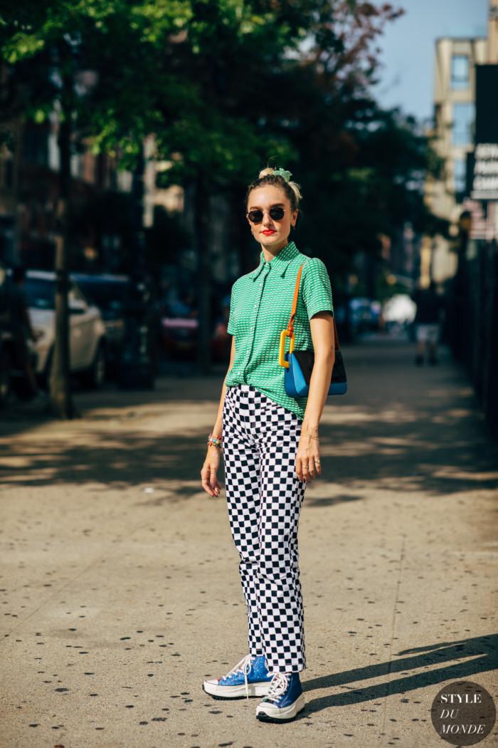 New York SS 2020 Street Style: Hannah Baxter