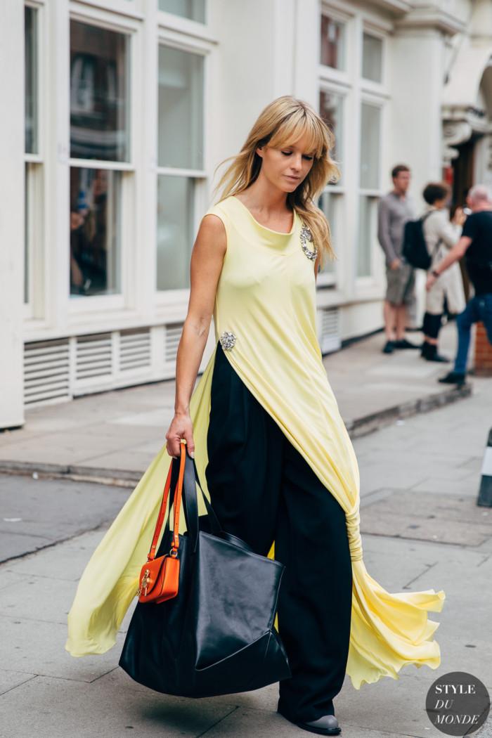 London SS 2020 Street Style: Jeanette Friis Madsen