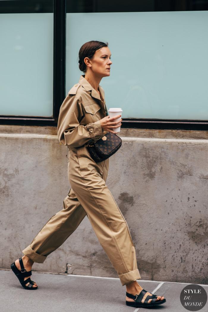 New York SS 2020 Street Style: Jo Ellison