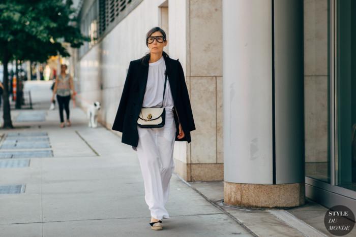 New York SS 2020 Street Style: Veronique Tristam