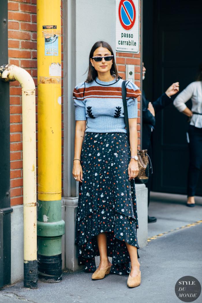 Milan SS 2020 Street Style: Julia Haghjoo