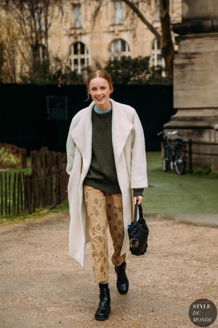 Paris FW 2020 Street Style: Rianne Van Rompaey