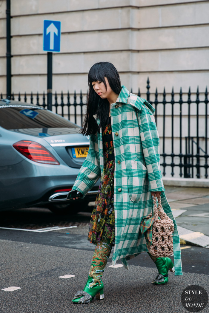 London Fall 2020 Street Style: Susie Lau
