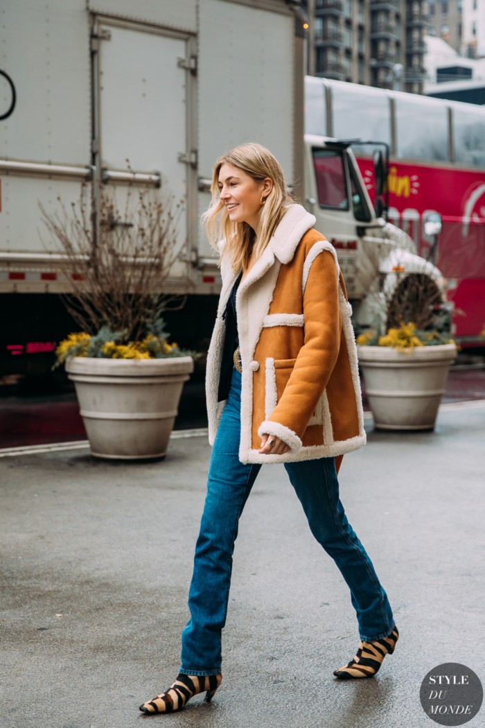 New York Fall 2020 Street Style: Camille Charriere