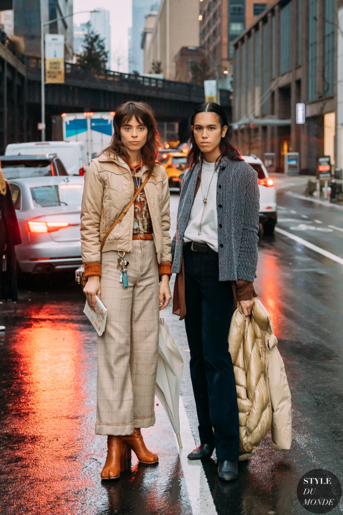 New York Fall 2020 Street Style: Massima Desire and Dara Allen
