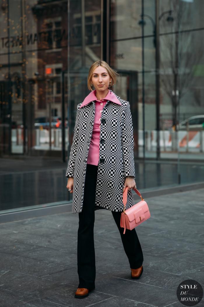 New York Fall 2020 Street Style: Madeline Harper Fass