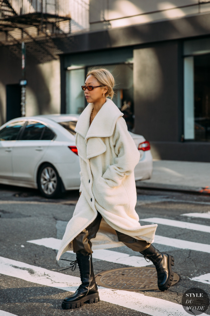 New York Fall 2020 Street Style: Vanessa Hong