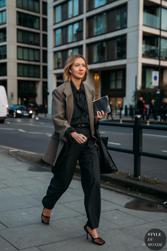 London Fall 2020 Street Style: Lisa Aiken
