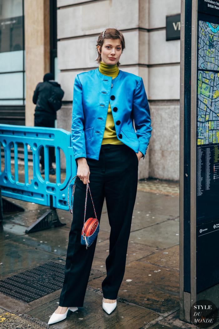 London FW 2019 Street Style: Larissa Hofmann