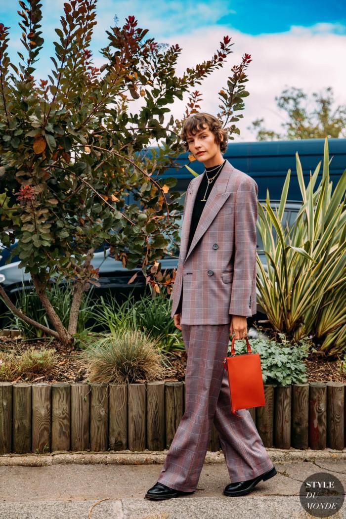 Paris SS 2021 Street Style: Sara Blomqvist