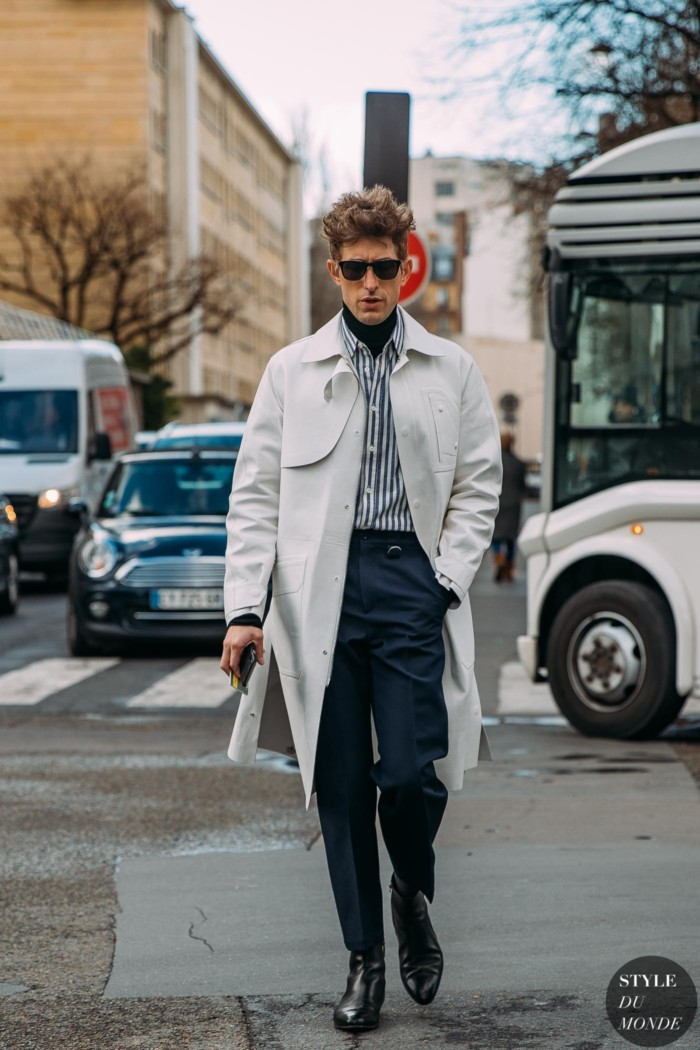 Paris Fall 2020 Street Style: David Thielebeule
