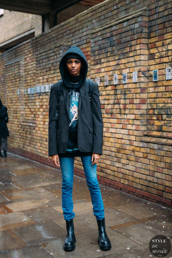 London Fall 2020 Street Style: Hannah Shakespeare