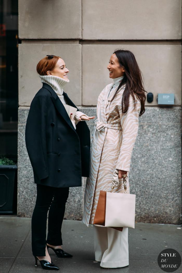 New York Fall 2020 Street Style: Libby Jane Page and Elizabeth von der Goltz