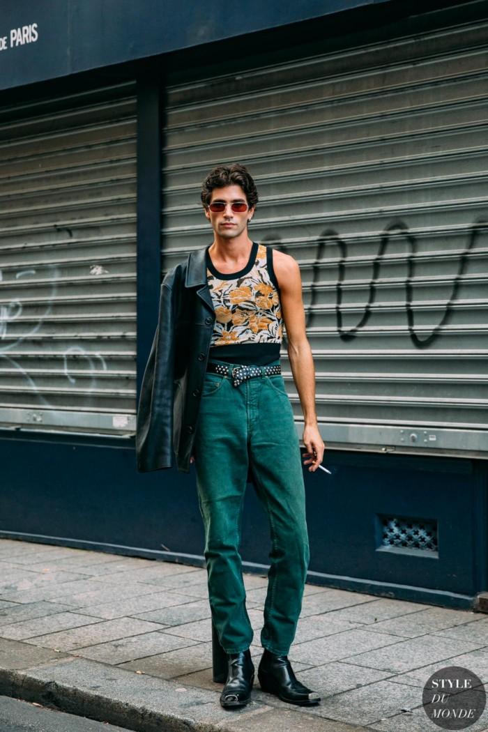 Paris SS 2021 Street Style: Marc Forne