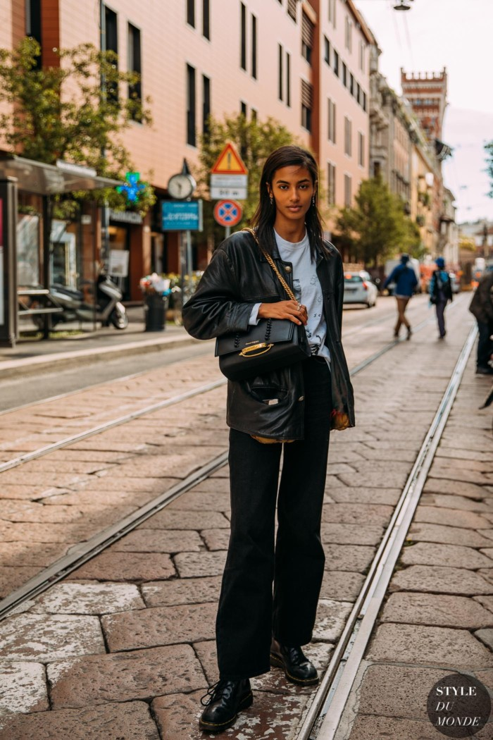 Milan SS 2021 Street Style: Sacha Quenby
