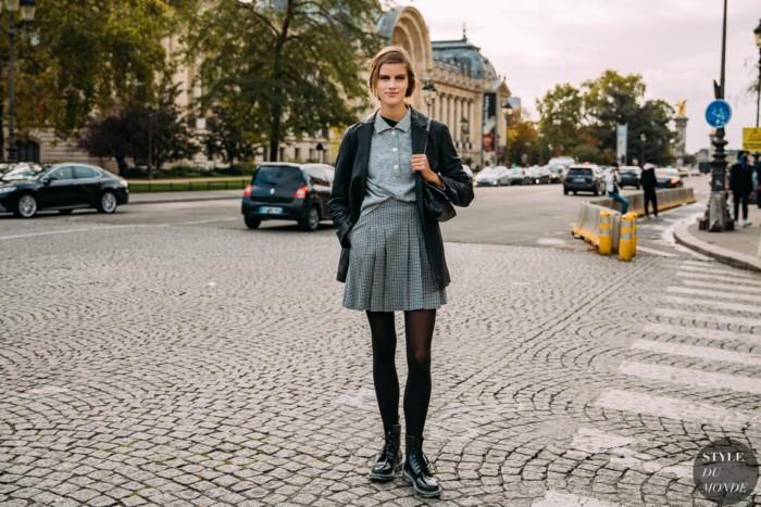 Paris SS 2021 Street Style: Bara Podzimkova