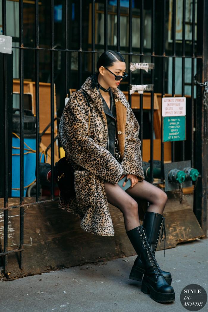 New York Fall 2020 Street Style: Sora Choi
