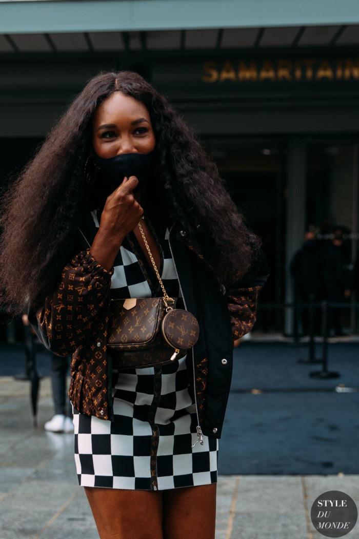Paris SS 2021 Street Style: Venus Williams