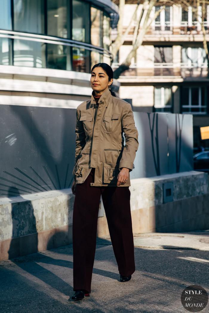 Paris FW 2019 Street Style: Caroline Issa
