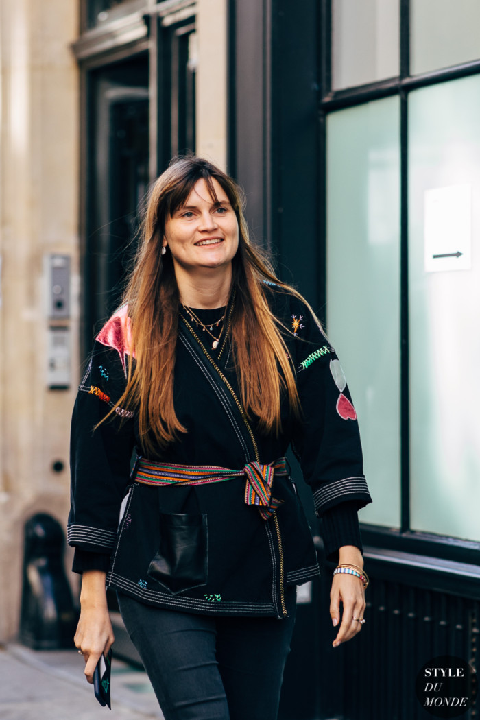 Paris SS 2019 Street Style: Eugénie Trochu